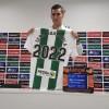 El delantero jumillano Sergi Guardiola renueva con el Córdoba hasta 2022