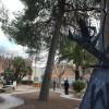 La Plaza Manuel Azaña se encuentra en obras de mejora