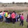 Alumnos del Colegio Nuestra Señora de la Asunción realizan una excursión por los parajes de Las Grajas y Peñarrubia para conocer de primera mano la flora y fauna de la zona