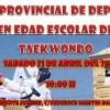 Seis Taekwondistas jumillanos estarán en el Campeonato de Castilla la Mancha en Edad Escolar