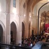La Hermandad del Cristo Amarrado a la Columna ha organizado varios actos religiosos para agasajar al Cristo
