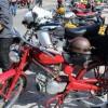 Este domingo se celebra la III concentración de 'Motos Clásicas Barrio de San Fermín'