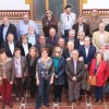 Varios antiguos alumnos del IES Arzobispo Lozano son recibidos por la Alcaldesa y la Concejala de Educación