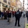 Concetración en el Ayuntamiento para protestar por el Sistema Público de Pensiones