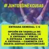 'Juntos sin excusas' El F.C. Jumilla sigue con las entradas a un euro y merchandising a mitad de precio para el ultimo partido de liga frente al Recreativo de Huelva