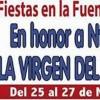 Este fin de semana se celebran las fiestas de la Fuente del Pino en honor a la Virgen del Rosario
