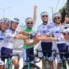 Marcos García, compañero de Salva Guardiola, gana el Tour de Japón y el KINAN Cycling por equipos
