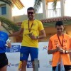 José Luís Monreal se lleva la medalla de plata Máster 40 del Campeonato Regional de 5 kilómetros de manera brillante