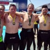 Cinco nadadores del Club Natación Jumilla presentes en la Oceanman de Tabarca