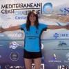 La nadadora del Club Natación Jumilla Elena Burruezo termina octava en Máster 20 en la Copa de España de Aguas Abiertas