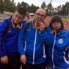 Tres medallas para los atletas de Aspajunide en el Campeonato de España de Atletismo FEDDI de Burgos