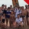 El Club Natación Jumilla terceros por equipos en la Travesía Solidaria contra el Melanoma de Playa de San Juan