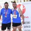 Alex Barrón, Ángel Mateo y José Luís Monreal triunfan en el Campeonato Regional Máster con siete medallas de oro, dos de plata y dos de bronce