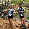 Francisco J. Gilar y Manuel Coloma aguantaron estoicamente hasta el granizo en la Ultra Trail 'Bosques del Sur