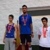 Juan Carlos Guardiola oro en salto de altura y Francisco Javier Guardiola bronce en lanzamiento de jabalina en el Campeonato Regional Sub-18
