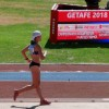 La atleta jumillana Ángela Carrión termina en décimo cuarta posición en los 10.000 metros marcha del Campeonato de España Absoluto de Atletismo