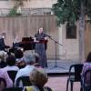 'Noches de Verano' deja un fantástico recital de canto y piano a cargo de Cristina Toledo y Aurelio Viribay en el atrio del Convento de Santa Ana