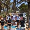 La II Travesía Playas de la Azohía contó con una amplia representación de nadadores del Club Natación Jumilla