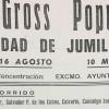 El histórico Cross Fiestas del Vino de Jumilla cumple 40 ediciones el próximo 15 de agosto