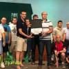 La sección de fútbol sala de Aspajunide recoge el premio La Parra 2018