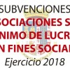 Las asociaciones con fines sociales recibirán más de 40.000 euros en subvenciones