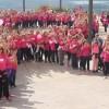 En el Castillo terminaron las actividades con motivo del Día Contra el Cáncer de Mama