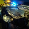 Dos personas fallecidas y cuatro heridas en un accidente de tráfico ocurrido esta mañana en la A-33 en el término de Jumilla
