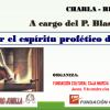 El Padre Blas Bernal ofrecerá una charla-reflexión