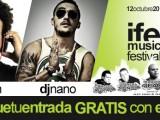 Consigue con ECORADIO una entrada gratis para el IFEPA MUSIC FESTIVAL