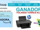 Yolanda Torres Albert consigue la impresora del Concurso de Tinta Natura