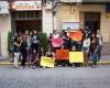 Estudiantes jumillanos se concentran frente al Ayuntamiento contra los recortes en Educación