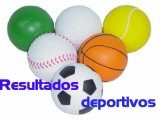 Resultados de los encuentros de los equipos de base de Baloncesto, Balonmano, Fútbol y Fútbol-Sala