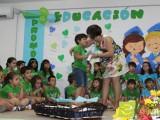 Los niños de Educación Infantil del CEIP Miguel Hernández reciben sus orlas