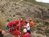 El Grupo de Espeleosocorro realizará un simulacro en el Barranco del Saltaor de Jumilla