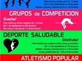 El Athletic Club Jumilla pone en marcha la Escuela de Atletismo y el Deporte Saludable