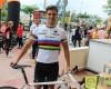 El ciclista jumillano Antonio Tárraga González, segundo en el X Memorial León Sánchez