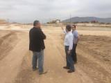 """El consejero de Fomento destaca el """"buen ritmo"""" de las obras en la autovía A-33 entre Yecla y Jumilla"""