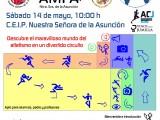 Este sábado se celebra el Día Mundial del Atletismo en el CP. Ntra. Sra. de la Asunción