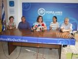 El PP celebró ayer su acto de valoración del primer año de gobierno socialista