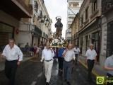 """Alrededor de 200 personas mantienen """"viva"""" la procesión de San Roque"""