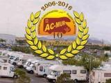 Más de doscientos autocaravanistas de la Región celebran  mañana su asamblea anual