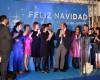 El Secretario general del PP Región de Murcia, Pedro Antonio Sánchez asiste en Jumilla a la Cena de Navidad del grupo político