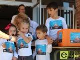 Los alumnos del colegio San Francisco corren contra el cáncer infantil
