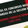 'Historia de los XX Concursos Nacionales de Coros y Danzas de la Sección Femenina (1942-1976) del escritor jumillano Jose Francisco Martí se presenta en Jumilla