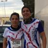 Miguel Ángel González Muñoz y Victoria García Jiménez despidieron el año en la San Silvestre Crevillentina