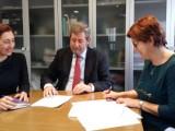 Firmada la cesión al Consorcio de Residuos de la Planta de Transferencia de Jumilla