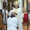 Fray Francisco Miguel Antequera, fraile de Santa Ana del Monte, recibió el orden del diaconado de manos de Monseñor José Rodríguez