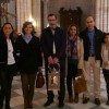 Representación jumillana en la vigilia de oración con la Luz del Joven Cofrade celebrada en Murcia