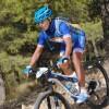 El ciclista Pedro José Martínez Pérez participa en la Vuelta a Ibiza de BTT