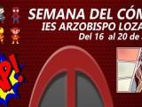 Los amantes del cómic tienen una cita en el IES Arzobispo Lozano con la 'Semana del Cómic'
